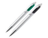 Пластиковая ручка с двумя чернилами